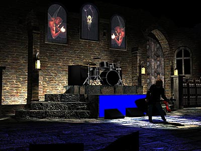 Live Music Set Design